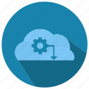 cloud, computing, seo, seo pack, seo services, seo tools icon