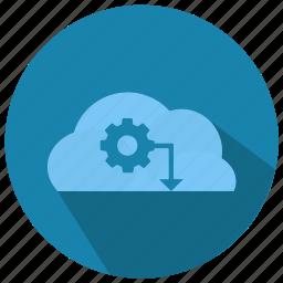 cloud, computing, seo, seo pack, seo services, seo tools icon