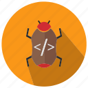 bug, code, seo, seo pack, seo services, seo tools icon