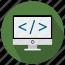 code, custom, seo, seo pack, seo services, seo tools icon