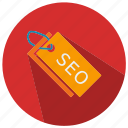 seo, seo pack, seo services, seo tools, tag icon