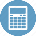 blue, calculation, calculator, count, seo icon