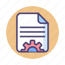 article, content, content management, editing, management, writing icon