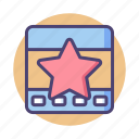 favorite, favourite, page, page quality, quality, star icon