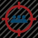 crosshair, goal, marketing, search engine optimization, seo, target, targeting