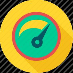 meter, performance, seo, speed, speedometer icon