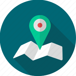 gps, location, map, navigation, page location icon