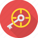 key, locate, password, search, seo icon