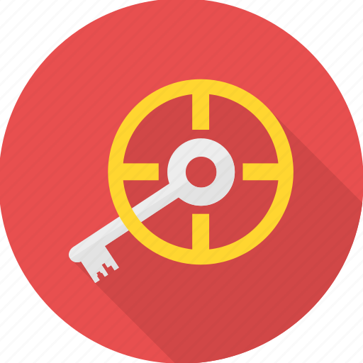 key, locate, password, search, seo icon