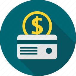 bank, business, card, currency, dollar, money, payment icon