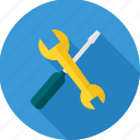 hand tool, handtool, repair, service, tool, tools, under construction icon
