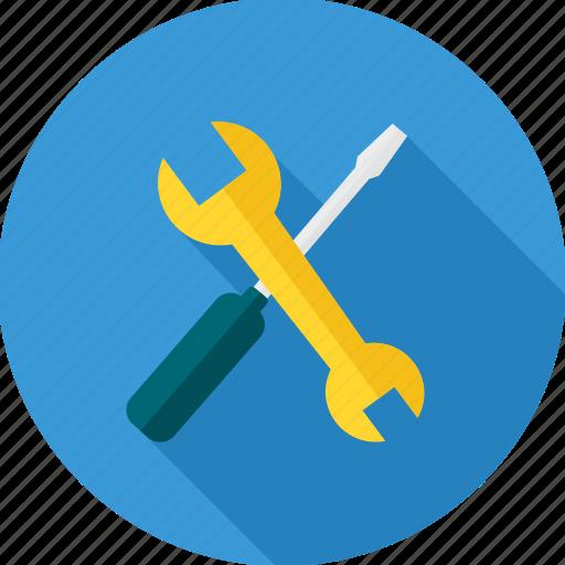 hand tool, handtool, repair, service, tool, tools, under construction icon