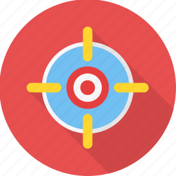 aim, business, focus, goal, seo, target icon