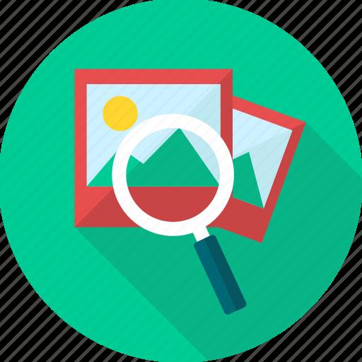 locate, location, magnifier, search, view icon