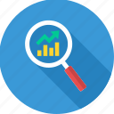 analysis, analytics, growth, growth evaluation icon