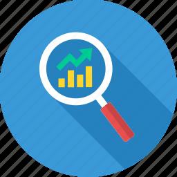 analysis, analytics, growth, growth evaluation icon
