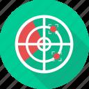 aim, focus, goal, search, seo, target icon