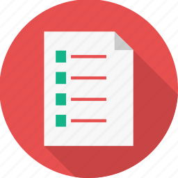 business, document, file, format, page, paper, text icon