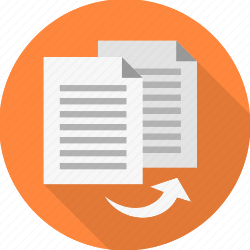 copy, document, page, paper, share, sheet, transfer icon