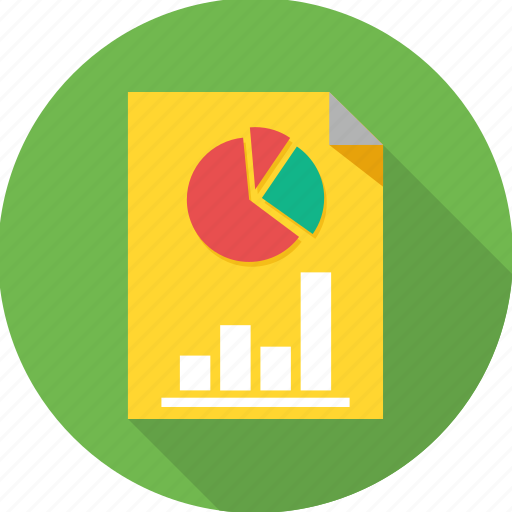 analysis, business, diagram, graph, presentation, report icon