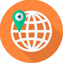 gps, location, navigation, seo, web icon