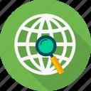 search, seo, web, magnifier