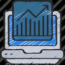 graph, laptop, linegraph, seo, traffic, website