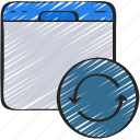 browser, online, seo, update, updates, website icon