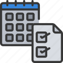 calendar, dates, month, monthly, report, reporting icon