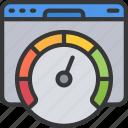 chart, measure, performance, piechart, seo, website