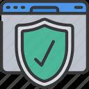badge, browser, online, security, seo, website