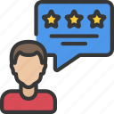 avatar, rating, review, seo, testimonial, user icon
