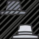 blackhat, hats, seo, versus, vs, whitehat icon