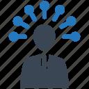 human, mind, mobile marketing, seo, seo pack, seo services, web design icon