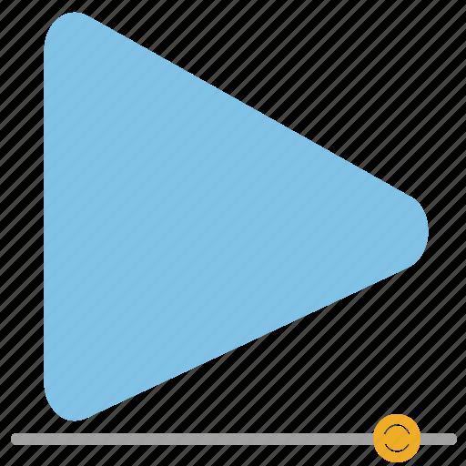 audio, film, media, movie, multimedia, player, video icon