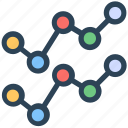 analytics, charts, connection, seo, statistics, web