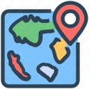 location, direction, seo, map pin
