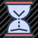 hourglass, loading, productivity, sand, seo