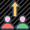 businessmen, management, seo, team, upload