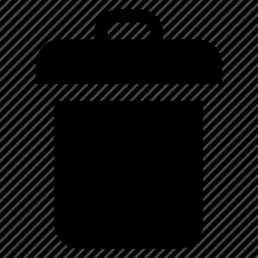 bin, delete, paper, recycle, recycling, trash, web icon