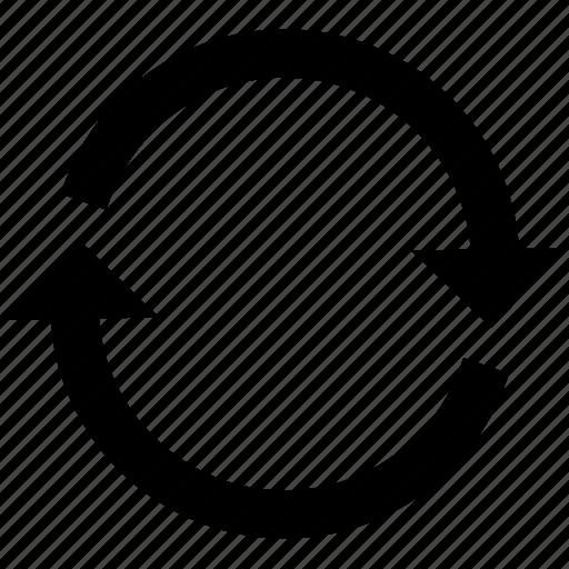 arrow, arrows, change, circle, circular, refresh, user interface icon