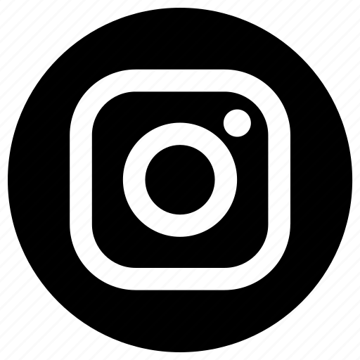 logo instagram round