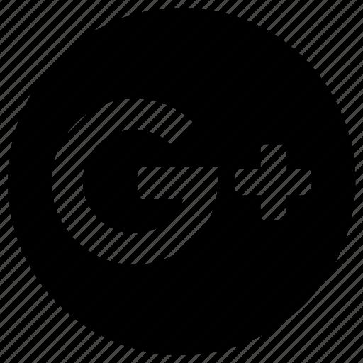 circular, google, google +, google+, googleplus, logo, plus icon