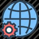 gear, global, seo, settings, web, world