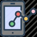 analytics, charts, seo, smartphone, web