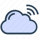 cloud, connection, seo, signals, storage, wifi
