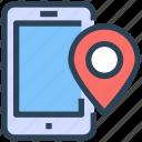 gps, location, mobile, pin, seo, smartphone, web