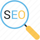 optimization, optimize, search, search engine, search engine optimization, seo, seo analytics icon