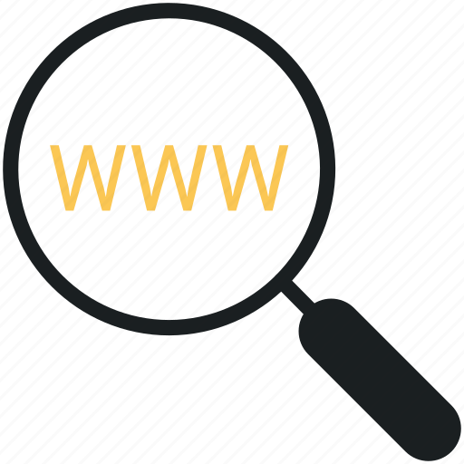 domain, internet, link, network, search, search engine, web icon