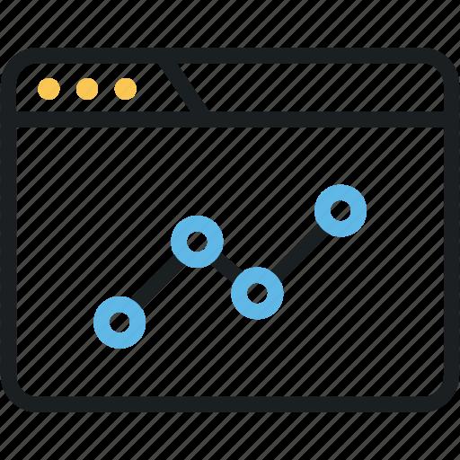 analytics, graph, monitoring, report, statistics, windows icon